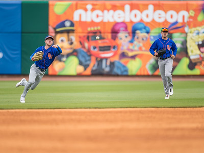 Baseball game between NWA Naturals and Midland RockHounds on 4/10/2016.  Photographer:  Alan Jamison.