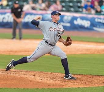 during a baseball game between the NWA Naturals and the San Antonio Missions on May 31, 2016.  (Alan Jamison)