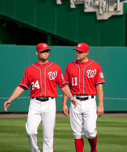 Nats in the outfield 9-3-2011