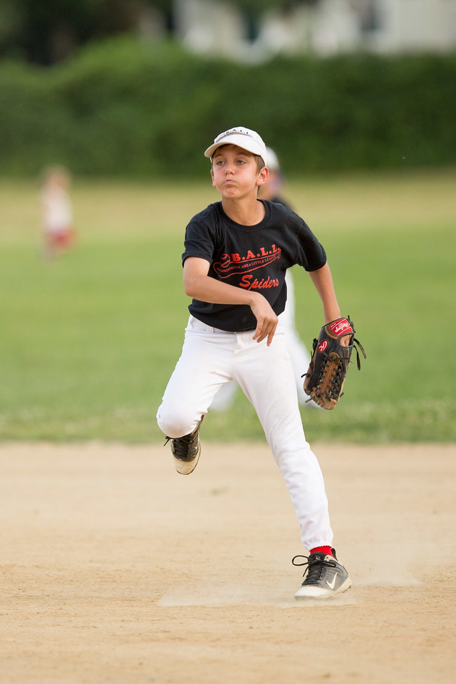 Oball Baseball, Old Brooklyn Area Little League, Spiders beat the Sluggers 7-6 in the first round of the playoffs., Spiders vs Sluggers