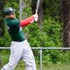 Mike Fogarty takes batting practice during the Lunenburg Phillies practice on Tuesday afternoon. SENTINEL & ENTERPRISE / Ashley Green