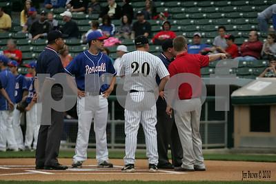 Roncalli vs Avon Baseball 5-1-10