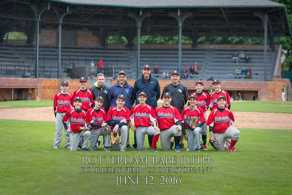 Rotterdam Babe Ruth Doubleday Field June 12, 2016