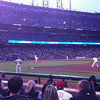 Tuesday, April 17, 2012.  Giants-4, Phillies-2.  Madison Bumgarner pitched a solid six innings the day after signing a five-year contract extension, Santiago Casilla pitched a scoreless ninth to earn the save in the Giants' first such opportunity since likely losing closer Brian Wilson for the season.