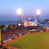 Saturday, April 14, 2012.  Bases-loaded error gives Giants walk-off win against Pirates, 4-3