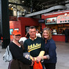 Giants vs. A's, Friday, April 29, 2013.  Mystery Grab Bag Night.  Giants win, 3-1