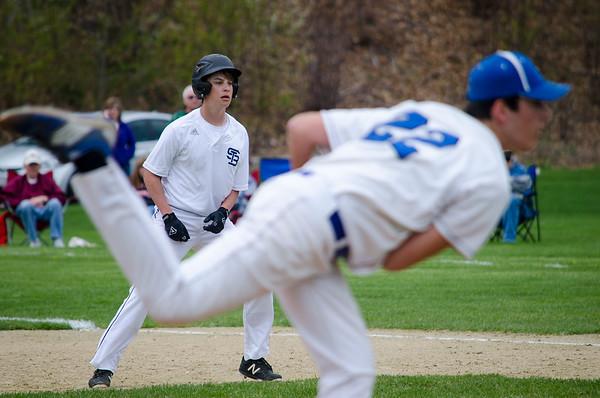 St. Bernard's baseball 4-29-16