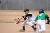 An out at second