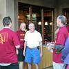 Shawn Zausch '81 player, Allan Davis - cousin and alum, Scott Hanlon player