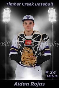 Aidan Rojas Baseball 18-19 flat