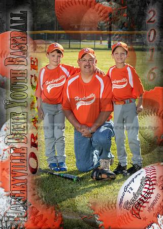 Harleyville Orange Coach Pitch 4-16-16