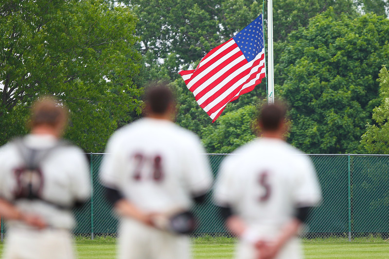 National Anthem, Flag