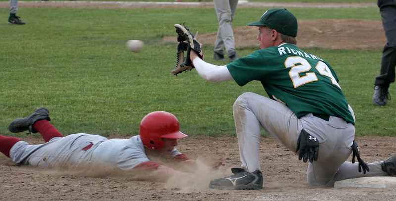 Gavin Daling - Short Stop.  Successful steal of third base.