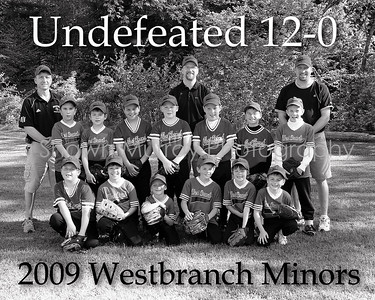 Westbranch undefeated 12-0 B&W for Era