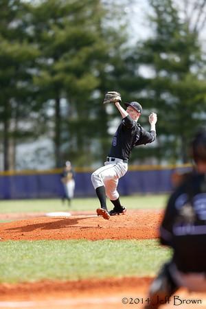 Whiteland vs Ben Davis Baseball 4-5-14