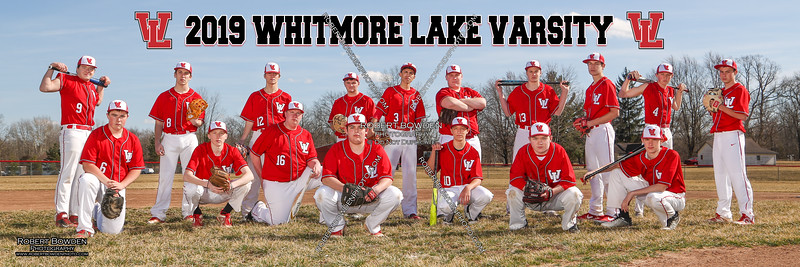 Whitmore Lake Mens Baseball Banner 2019