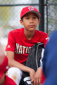Jack post game. The Nationals started out their season with a 4-1 win over the Pirates. 2012 Arlington Little League Baseball, Majors Division. Nationals vs Pirates (14 Apr 2012) (Image taken by Patrick R. Kane on 14 Apr 2012 with Canon EOS-1D Mark III at ISO 400, f2.8, 1/800 sec and 145mm)