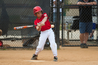 Isaiah at bat in the top of the 3rd inning. The Nationals started out their season with a 4-1 win over the Pirates. 2012 Arlington Little League Baseball, Majors Division. Nationals vs Pirates (14 Apr 2012) (Image taken by Patrick R. Kane on 14 Apr 2012 with Canon EOS-1D Mark III at ISO 200, f2.8, 1/1600 sec and 200mm)