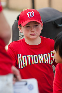 Christopher post game. The Nationals started out their season with a 4-1 win over the Pirates. 2012 Arlington Little League Baseball, Majors Division. Nationals vs Pirates (14 Apr 2012) (Image taken by Patrick R. Kane on 14 Apr 2012 with Canon EOS-1D Mark III at ISO 400, f2.8, 1/1000 sec and 150mm)