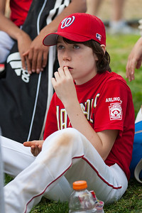 Toby post game. The Nationals started out their season with a 4-1 win over the Pirates. 2012 Arlington Little League Baseball, Majors Division. Nationals vs Pirates (14 Apr 2012) (Image taken by Patrick R. Kane on 14 Apr 2012 with Canon EOS-1D Mark III at ISO 400, f2.8, 1/1250 sec and 130mm)