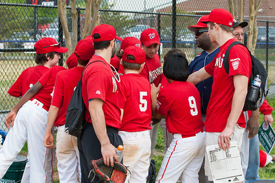 The Nationals started out their season with a 4-1 win over the Pirates. 2012 Arlington Little League Baseball, Majors Division. Nationals vs Pirates (14 Apr 2012) (Image taken by Patrick R. Kane on 14 Apr 2012 with Canon EOS-1D Mark III at ISO 400, f5.6, 1/320 sec and 70mm)