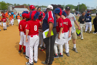 Majors Nationals. Arlington Little League Baseball Opening Day 2012. (Image taken by Patrick R. Kane on 15 Apr 2012 with COOLPIX S570 at ISO 80, f2.7, 1/1000 sec and 5mm)
