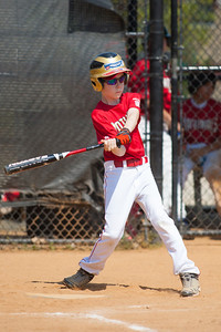 Toby at bat in the bottom of the 2nd inning. The Nationals played a close and exciting game against the Cubs before being outscored in the 6th inning, losing 8-9. They are now 2-1 for the season. 2012 Arlington Little League Baseball, Majors Division. Nationals vs Cubs (21 Apr 2012) (Image taken by Patrick R. Kane on 21 Apr 2012 with Canon EOS-1D Mark III at ISO 200, f2.8, 1/3200 sec and 300mm)