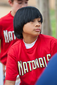 Alex post game. The Nationals started out their season with a 4-1 win over the Pirates. 2012 Arlington Little League Baseball, Majors Division. Nationals vs Pirates (14 Apr 2012) (Image taken by Patrick R. Kane on 14 Apr 2012 with Canon EOS-1D Mark III at ISO 400, f2.8, 1/800 sec and 165mm)