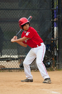 Alex at bat in the top of the 3rd inning. He'll strike out to end the top of the 3rd inning. The Nationals started out their season with a 4-1 win over the Pirates. 2012 Arlington Little League Baseball, Majors Division. Nationals vs Pirates (14 Apr 2012) (Image taken by Patrick R. Kane on 14 Apr 2012 with Canon EOS-1D Mark III at ISO 200, f2.8, 1/1250 sec and 180mm)