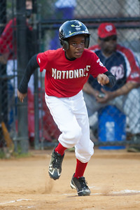 Alex hits a RBI in the bottom of the 1st inning. The Nationals won their second game in a row to start the season with an 11-0 victory over the Twins. 2012 Arlington Little League Baseball, Majors Division. Nationals vs Twins (19 Apr 2012) (Image taken by Patrick R. Kane on 19 Apr 2012 with Canon EOS-1D Mark III at ISO 1600, f2.8, 1/250 sec and 300mm)