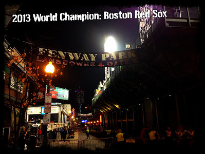 2013 World Series Champion: Boston Red Sox