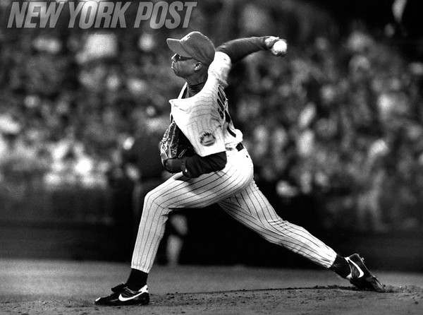 Dwight Gooden Pitches a 4 Hit Shutout. 1993