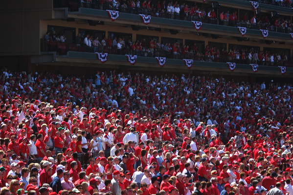 Cardinal Nation; St. Louis, Missouri
