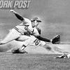 Dovey Schneck Gets His First Steal. 1974