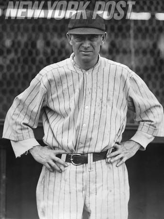 Miller Huggins Yankees Manager 1918-1929.