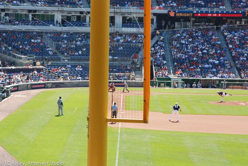 David Wright at bat for the Mets (2010 vs. Nationals)