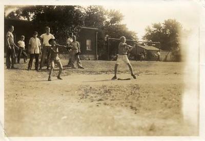 Boys Playing Baseball I (01044)
