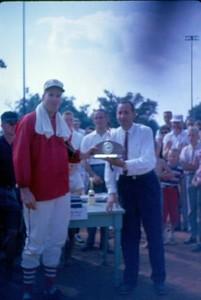 Man Receiving a Trophy IV (01051)