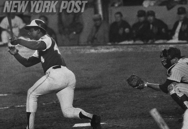 Hank Aaron goes for the Home Run Record. 1973