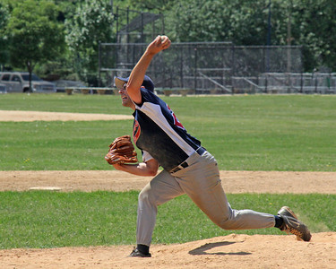 Baseball pitcher at Eisenhower Park