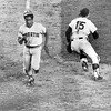 Tommie Agee Scores The Winning Run! 1973