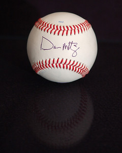 04/11/08 Don Mattingly autographed baseball