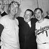 Walter O' Malley With Walt Alston and Pee Wee Reese After World Series Game 6 Win