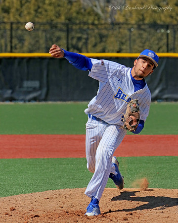 NYIT pitcher in action on 03-31-18.