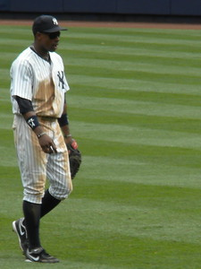 Curtis Granderson, Yankee Stadium on June 25th 2011