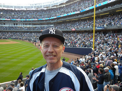At Yankee Stadium to see the Yankees beat the Red Sox and clinch the AL East Championship in 2009