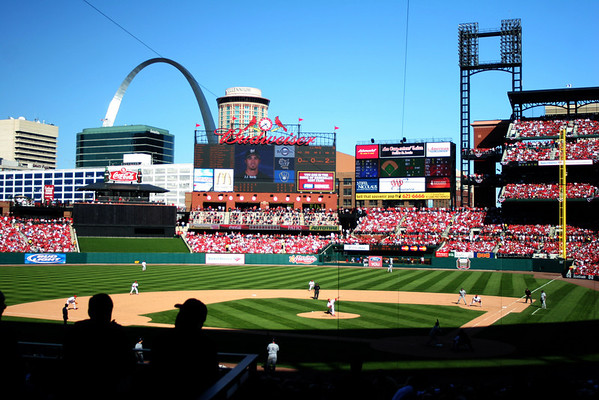 Opening Day, New Busch Stadium 2006; St. Louis, Missouri St. Louis Cardinals World Championship Season