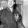 New York Yankee Warren Spahn In Locker Room
