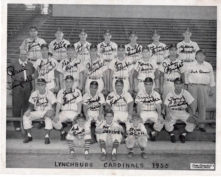 1955 Lynchburg Cardinals Team  (09851)