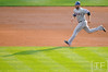 Oct 13, 2011; Detroit, MI, USA; Texas Rangers first baseman Mitch Moreland (18) runs to second in the third inning of game five of the 2011 ALCS against the Detroit Tigers at Comerica Park.  Mandatory Credit: Tim Fuller-US PRESSWIRE